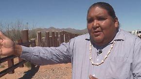 """""""Nur über meine Leiche"""": Ureinwohner wollen Trumps Mauer verhindern"""