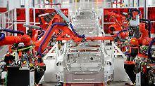 Medienbericht über Zulieferstopp: Tesla verärgert deutsche Autobauer