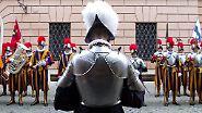 Die Päpstliche Schweizergarde: Männlich, ledig, jung, gesucht