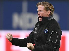 Markus Gisdol steht beim HSV noch nicht in der Diskussion.