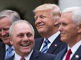 Trumpcare noch lange nicht durch: Trump freut sich womöglich zu früh