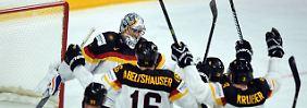 Euphorie bei Eishockey-WM: DEB-Team umjubelt Weltklasse-Goalie Greiss