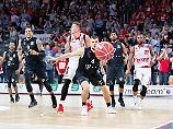 Der deutsche Basketball-Meister Bamberg kassierte zu Hause eine Niederlage gegen Bonn.