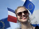 """""""Wir zählen auf Frankreich"""": Macrons Sieg lässt Europa aufatmen"""