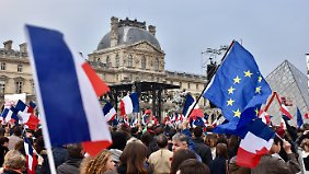 Gratulation von Le Pen: Macron gewinnt Präsidentschaftswahl in Frankreich