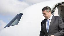 101 im Amt: Macht Sigmar Gabriel als Außenminister eine gute Figur?