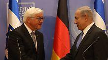 Steinmeier in Israel: Die heikle Mission ist gelungen