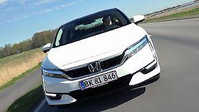 Eine Zukunft ohne Abgase: Honda Clarity fährt mit Wasserstoff
