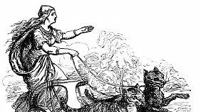 Bei der Germanen galt die Göttin Freya als Pendant zur römischen Liebesgöttin Venus. Nach ihr wurde der Freitag benannt.
