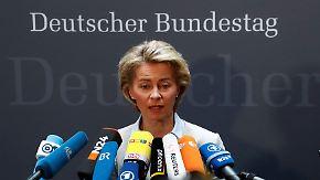Rechtsextremismus in der Bundeswehr: Von der Leyen muss Rede und Antwort stehen