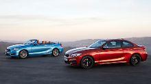 BMW schickt sein 2er Cabrio und Coupé aufgefrischt in die zweite Lebenshälfte.