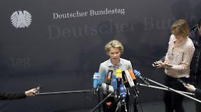 Weiterhin unter Druck: Von der Leyen kündigt Bundeswehr-Reformen an