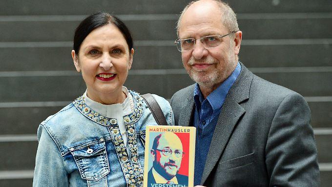 Schwester und Bruder des SPD-Kanzlerkandidaten: Doris Harst und Walter Schulz