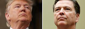 Comey vs. Trump: Alles über den politischen Super Bowl
