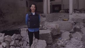 Antonia Rados im Nationalmuseum: IS hinterlässt in Mossul zertrümmerte Kunstschätze