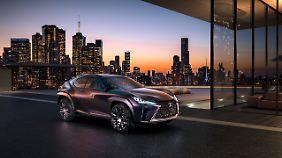 Mit der Studie UX Concept zeigte Lexus 2016 in Paris, wohin die Reise bei den Crossovern gehen soll.