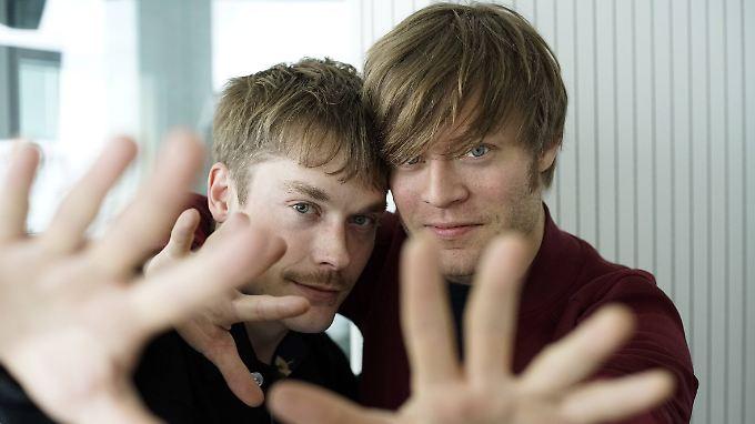 Carl-Johan Fogelklou und Björn Dixgard haben alles im Griff.