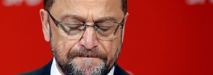 Kanzlerkandidat Schulz: Nicht schuld und trotzdem der Depp