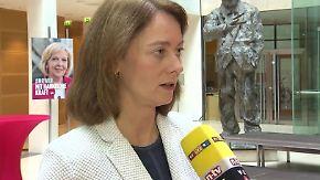 """Barley zur Lage der SPD: """"Jetzt geht es erst richtig los"""""""