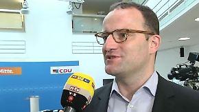 """Spahn zum CDU-Sieg in NRW: """"Wir dürfen nicht übermütig werden"""""""