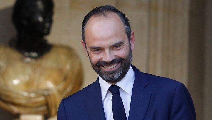 Edouard Philippe kam heute bereits nach Paris.