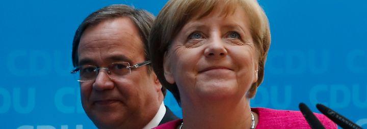 Nach der NRW-Wahl: CDU tankt Selbstvertrauen, SPD muss sich neu sortieren