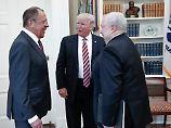 Trumps Plaudereien mit Lawrow: Das Dementi des Weißen Hauses ist seltsam