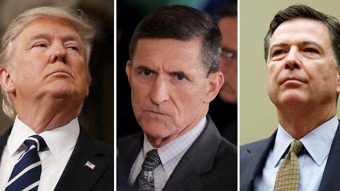 Belastende Notiz von Ex-FBI-Chef: Trump soll um Ende der Flynn-Ermittlungen gebeten haben