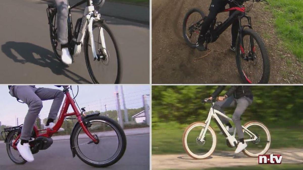Ein schwindes Fahrrad