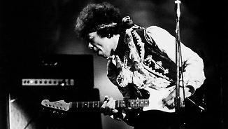 Promi-News des Tages: Gitarre von Jimi Hendrix kommt unter den Hammer