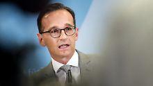 AfD kritisiert Stasi-Methoden: Maas verteidigt NetzDG