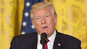 Bitte um Einstellung von Flynn-Ermittlungen: Trump weist Vorwürfe zurück