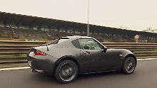 Drehfreudiges Fliegengewicht: Mazda MX-5 ist eine echte Rennsau