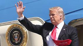 """Experte: """"Reise ist zum Fürchten"""": Trump bricht zur ersten Auslandsreise in den Nahen Osten und Europa auf"""
