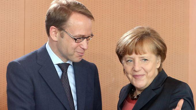 Angela Merkel will sich angeblich dafür stark machen, dass Jens Weidmann nächster EZB-Chef wird.