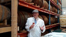 Henric Molin brennt auf der Insel Ven überraschend guten Whisky - mit und ohne Musik.