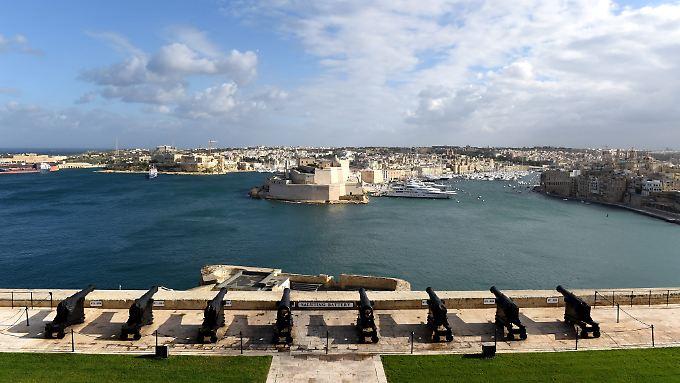 Der Hafen der maltesischen Hauptstadt Valetta.