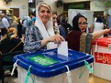 Präsidentschaftswahl im Iran: Ruhani führt offenbar deutlich