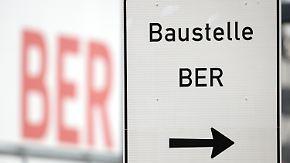 Eröffnungstermin 2018 fraglich: Flughafen BER kostet rund eine Million Euro pro Tag