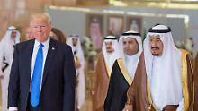 Fast 100 Milliarden Euro schwer: USA und Saudi-Arabien schließen Waffendeal