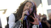 Seine Freundin hat mal für Melania Trump gearbeitet: Aerosmith-Sänger Steven Tyler.