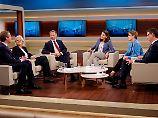 Anne Will diskutiert mit ihren Gästen Eric Schweitzer, Ulrike Herrmann, Christian Lindner, Annegret Kramp-Karrenbauer und Thorsten Schäfer-Gümbel.