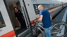 Stellplätze in der Bahn: Wenn der Zug voller Radfahrer ist