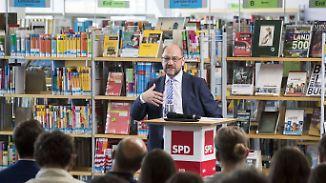 Die SPD versteckt ihren Chef: So wird das nichts mit Schulz