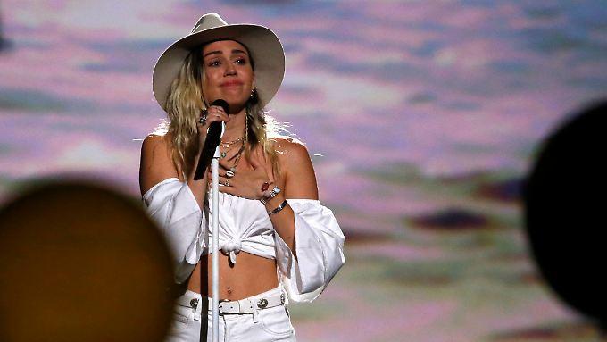 Emotionaler Auftritt bei den Billboard Music Awards: Miley Cyrus.