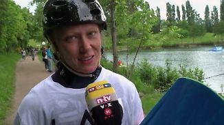 """Platz 2 für Weltmeisterin Julia Rick: Wakeboard-Elite misst sich bei den """"Langenfeld Open"""""""