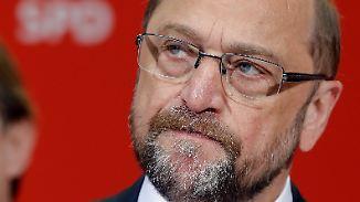 Kanzlerschaft in weiter Ferne?: Anfangseuphorie um Martin Schulz kühlt sich ab