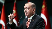 Möglicher Überraschungsauftritt: Bundesregierung warnt Erdogan erneut