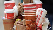 """""""Coffee to go"""" erzeugt Müllberge: München sagt Einwegbechern den Kampf an"""