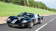 Kaum ein anderes Auto hat in den 60er-Jahren so für Furore gesorgt wie der Ford GT.